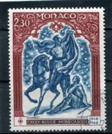 MONACO  N°  742  (Y&T)  (Oblitéré) - Oblitérés