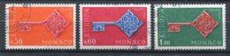 MONACO  N°  749 A 751  (Y&T)  (Oblitéré) - Oblitérés