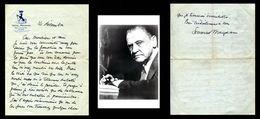 SOMERSET MAUGHAM (1874-1965) - Lettre Autographe Signée - Autógrafos