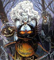 Erotique BD COMICS Erotic Fantasy LADY DEATH Sexe Diable Enfer Demon Cimetière Gothique Cemetery Underwear Gothic Hell - Trading Cards