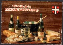 RECETTE DE CUISINE LA FONDUE SAVOYARDE EMILIE BERNARD - Ricette Di Cucina