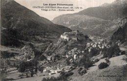 CPA   04  CHATEAU-QUEYRAS---VILLAGE ET FORT---STATION ESTVALE - Autres Communes
