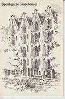 PAYS BAS NOORD HOLLAND AMSTERDAM SPOUT-GABLE WAREHOUSE PRINSENGRACHT 211-217 - Amsterdam
