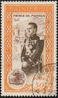 Monaco Obl. N°  339 - Avénement Du Prince Raignier III - Le 50c Orange - Monaco