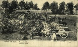 Parc D'artillerie.  GUERRE FRANCE 1914/18 WWI WWICOLLECTION - Guerre 1914-18