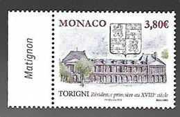 Monaco 2020 - Yv N° 3243 ** - ANCIENS FIEFS DES GRIMALDI - TORIGNI - Ungebraucht