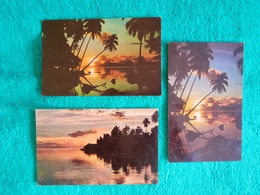 TAHITI Couchers De Soleil / Sunsets - Polynésie Française