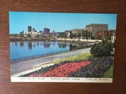 MONTREAL QUEBEC CANADA TERRES DES HOMMES 1976 JEUX OLYMPIQUES CEREMONIE D'OUVERTURE - Montreal