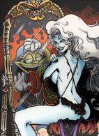 Erotique COMICS Erotic Fantasy LADY DEATH Sexe Diable Enfer Demon Lingerie Gothique Miroir Underwear Gothic Hell Mirror - Trading Cards