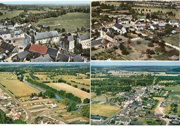 LA CHAPELLE AUX CHOUX - 4 CP - Vue Générale Aerienne -    (119457) - Other Municipalities