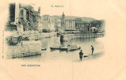 San Sebastian * El Muelle * Espana Guipuzcoa * Cpa Dos 1900 - Guipúzcoa (San Sebastián)