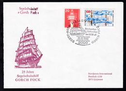 HAMBURG 4 2000 Briefmarken-Werbeschau Des BUW-e.V. 25 JAHRE GORCH FOCK - Germany
