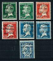 Líbano (Francés) Nº 39/44-49 Nuevo* Cat.19€ - Grand Liban (1924-1945)