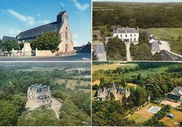 LA CHAPELLE AUX CHOUX - 4 CP - Vue Aerienne Etival - Chateau D' Ammon - L' Eglise - La Chataigneraie     (119458) - Other Municipalities