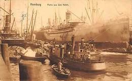 Hamburg Partie Aus Dem Hafen Schiff Ship Boats Port Bateaux - Sonstige
