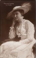 ! Alte Ansichtskarte, Adel, Royalty, Prinzessin Joachim Von Preussen, Hut, Mode - Familles Royales