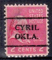 USA Precancel Vorausentwertung Preo, Locals Oklahoma, Cyril 708 - Vereinigte Staaten