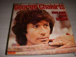 DISQUE VINYL 45 Tours GEORGES CHAKIRIS MON PAYS C'EST LE SOLEIL - IN NO HEART'S - Vinyles