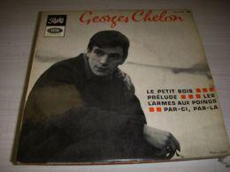 DISQUE VINYL 45 Tours GEORGES CHELON LE PETIT BOIS - PRELUDE ... 4 Titres - Vinyles