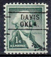 USA Precancel Vorausentwertung Preo, Locals Oklahoma, Davis 745 - Vereinigte Staaten