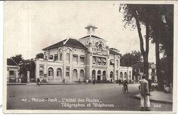 PHNOM PENH . HOTEL DES POSTES T.T - Cambodia