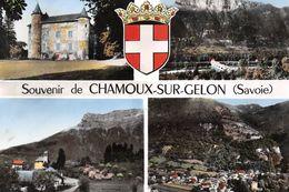 Souvenir De CHAMOUX-sur-GELON - Vues Générales - Château - Blason - Chamoux Sur Gelon