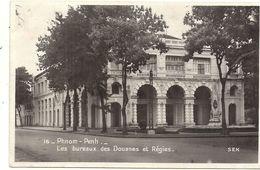 PHNOM PENH .BUREAUX DES DOUANES ET REGIES - Cambodia