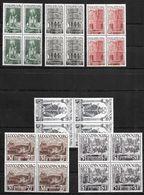 LUXEMBURGO 1938 BL4     MI 309/314 ** MNH BL4 VC 280 EUROS - Nuevos