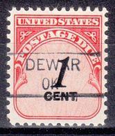 USA Precancel Vorausentwertung Preo, Locals Oklahoma, Dewar 835.5 - Vereinigte Staaten