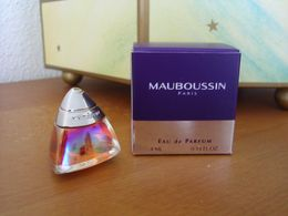 ACHAT IMMEDIAT;;;;  MINIATURE MAUBOUSSIN 4 ML EAU DE PARFUM - Moderne Miniaturen (ab 1961)