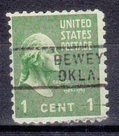 USA Precancel Vorausentwertung Preo, Locals Oklahoma, Dewey 729 - Vereinigte Staaten