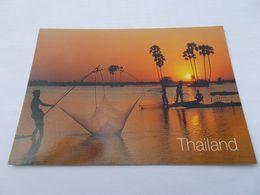 CATCHING FISH IN  THAILAND ( THAILANDE ) PECHE DE NUIT - Thaïlande