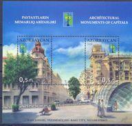 2015. Azerbaijan, RCC, Architectural Monuments Of Capitals, S/s, Mint/** - Azerbaïdjan