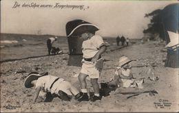 ! Alte Ansichtskarte, Adel, Royalty, Die 3 Söhne Des Kronprinzenpaares, Photo G. Berger, Potsdam - Familles Royales