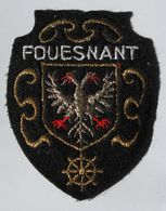écusson Brodé Ancien Fouesnant 29 Bretagne Armoiries Blason - Ecussons Tissu