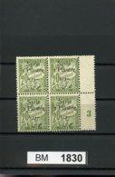 BM1830, Syrien - Porto, Xx,x, Marke R. Oben, 34, Mittelsteg, Plattennummer - Syrien