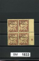 BM1833, Syrien - Porto, Xx,x, Marke R. Oben, 37, Mittelsteg, Plattennummer - Syrien