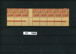 BM1846, Syrien - Porto, Xx, X, L.+r. Marke, 35 Im 8-er Streifen, Mittelsteg, Unterrand - Syrien