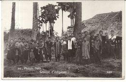 PHNOM PENH .GROUPE D'INDIGENES - Cambodia