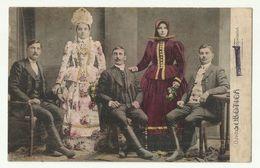 Subotica Szabadka Art Costume Old Postcard - Serbia