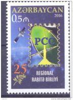2016. Azerbaijan, 25y Of RCC, 1v,  Mint/** - Azerbaïdjan