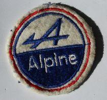 écusson Brodé Ancien Voiture Alpine Renault - Voitures