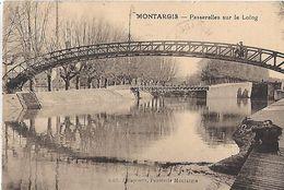 Montargis. Les Passerelles Sur Le Loing. - Montargis