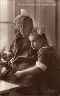 ! Alte Ansichtskarte, Adel, Royalty, Prinzessin Alexandrine Von Preussen, Cecilie, Niederastroth Potsdam - Familles Royales