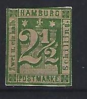 Germany (Hamburg)  1864  (*)  MH  Mi.9 - Hamburg