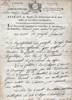 1794 COMMUNE-AFFRANCHIE (Lyon) Les Sans-culottes Commission De Surveillance Des Séquestres ATELIERS NATIONAUX - Documents Historiques