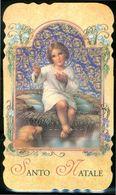 SANTINO - Gesu' Bambino - Santo Natale - Santino Con Preghiera. - Devotion Images