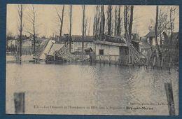 BRY SUR MARNE - Les Désastres De L' Inondation De 1910 Dans La Pépinière - Bry Sur Marne