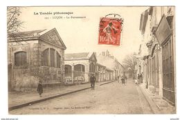 85 - LUCON LA POISSONNERIE - COLLECTION G.M.D. DUGLEUX PHOTO LA ROCHE SUR YON - N° 193 - 16 AVRIL 1908 - 2 Scans - Lucon