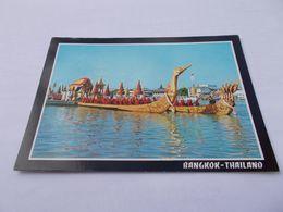 THE SUPANNAHONGSE  THAI ROYAL STATE  BARGE  BANGKOK    THAILAND ( THAILANDE ) VOYAGEE - Thaïlande